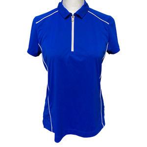 Slazenger Womens Tech Golf Polo Blue M